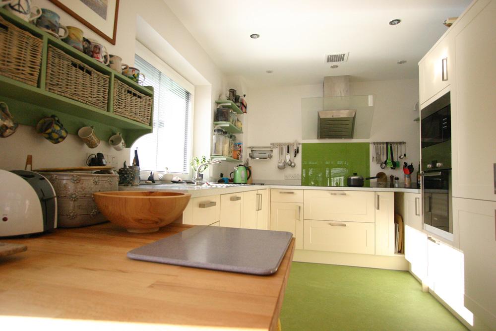 Interior view of kitchen - Passivhaus
