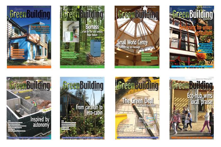 Green building magazine on PDF